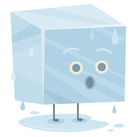 Cold should be used for new injuries or right after re-injury.