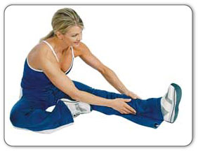After Achilles tendon is warmed up the PT will guide you through stretches to improve mobility of Achilles tendon.